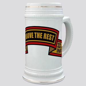 "1st Bn 327th ""Above the Rest""' Stein"
